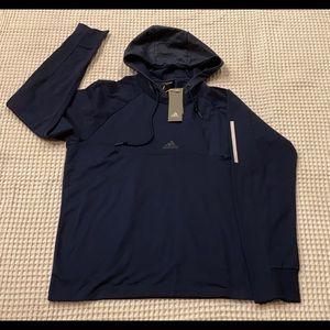 Brand new men's Adidas long-sleeve hoody